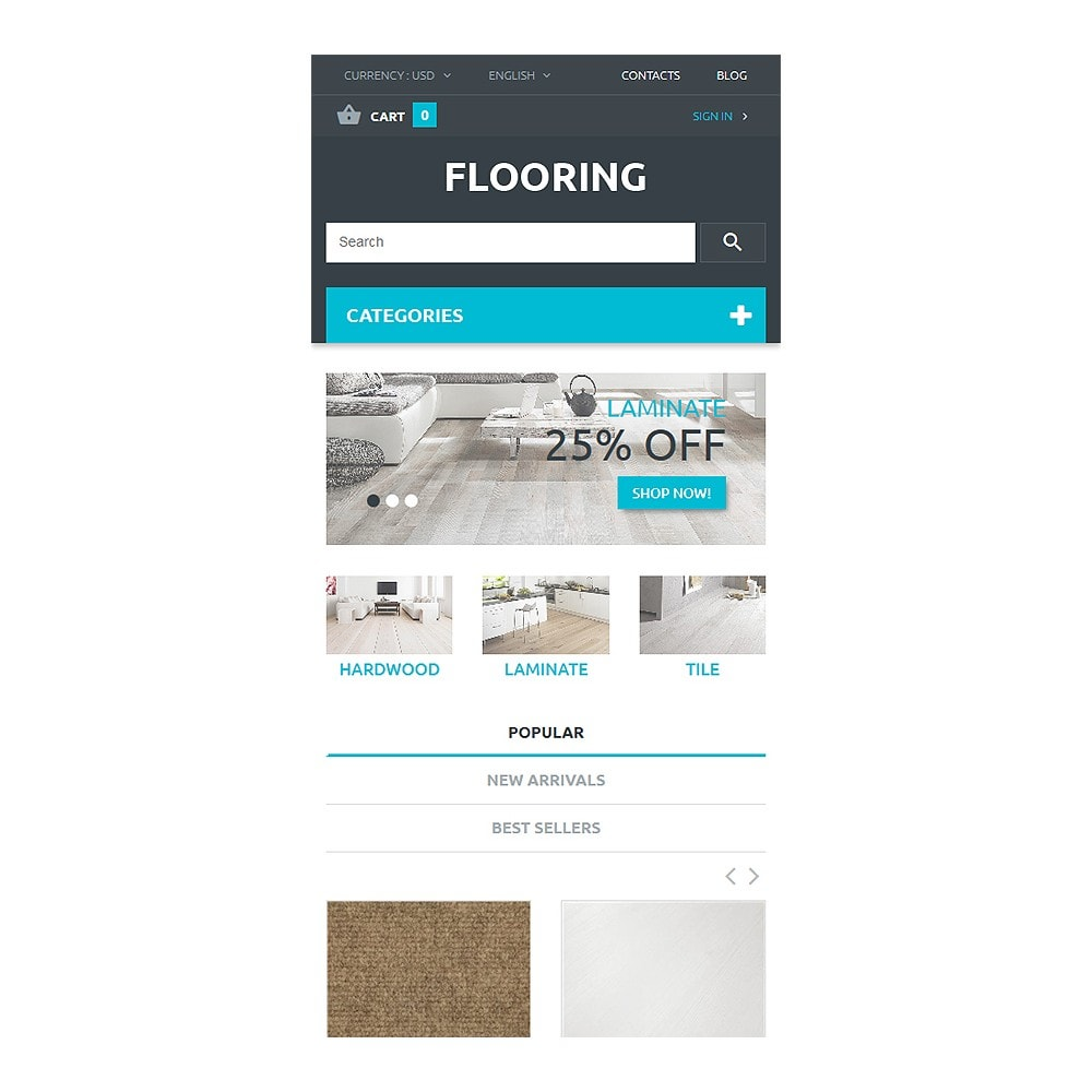 theme - Arte y Cultura - Flooring Store - 8