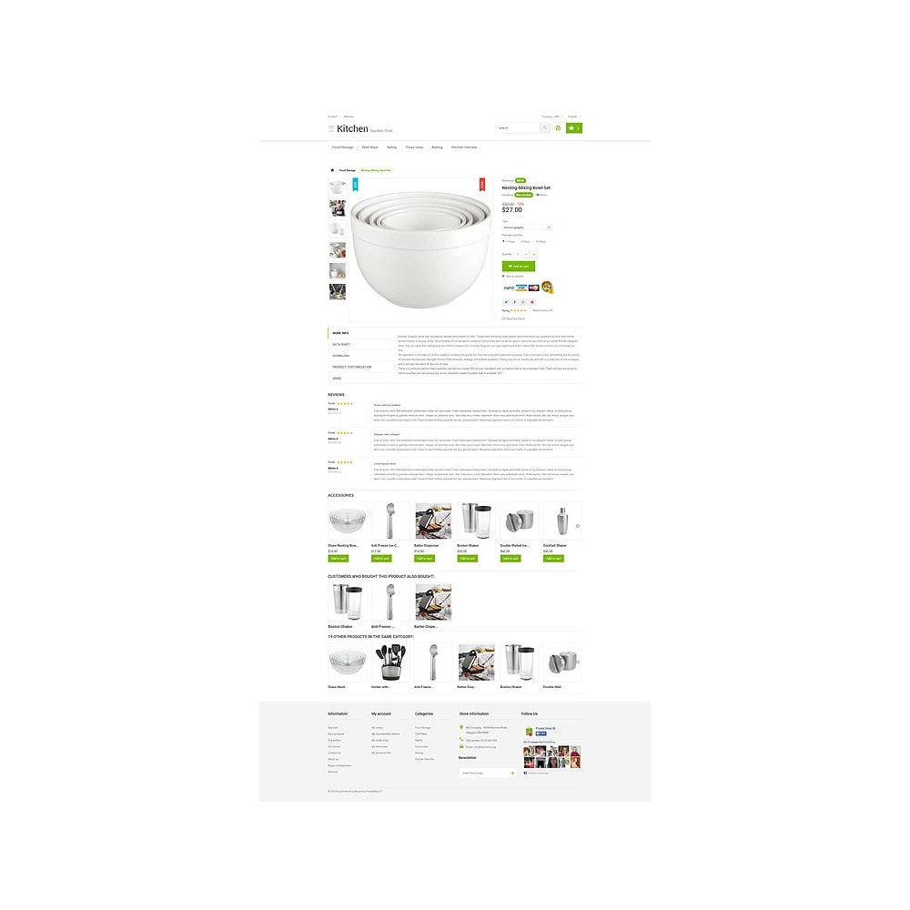 theme - Kunst & Cultuur - Kitchen Supplies Store - 6