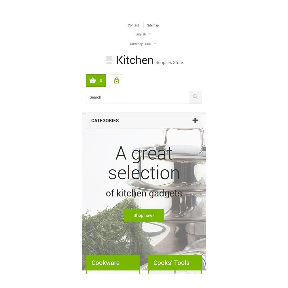 theme - Kunst & Cultuur - Kitchen Supplies Store - 8