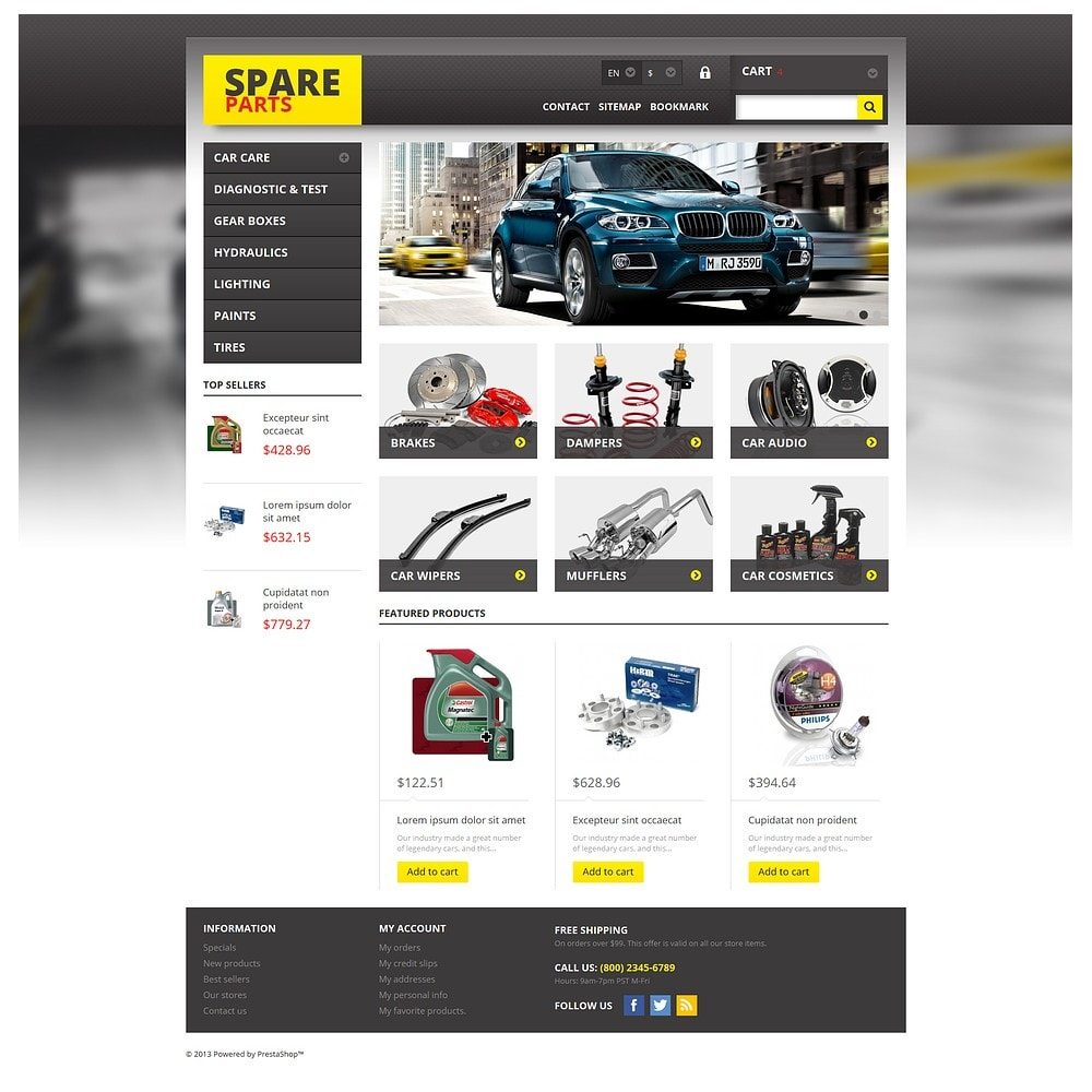 theme - Auto's & Motoren - Spares for Any Car - 2