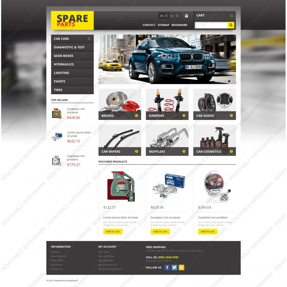 theme - Auto's & Motoren - Spares for Any Car - 3