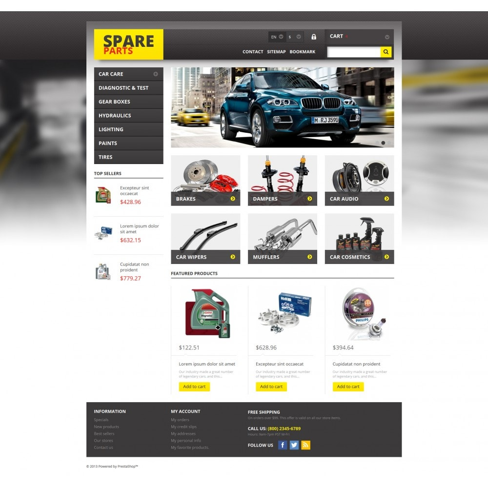 theme - Auto's & Motoren - Spares for Any Car - 4
