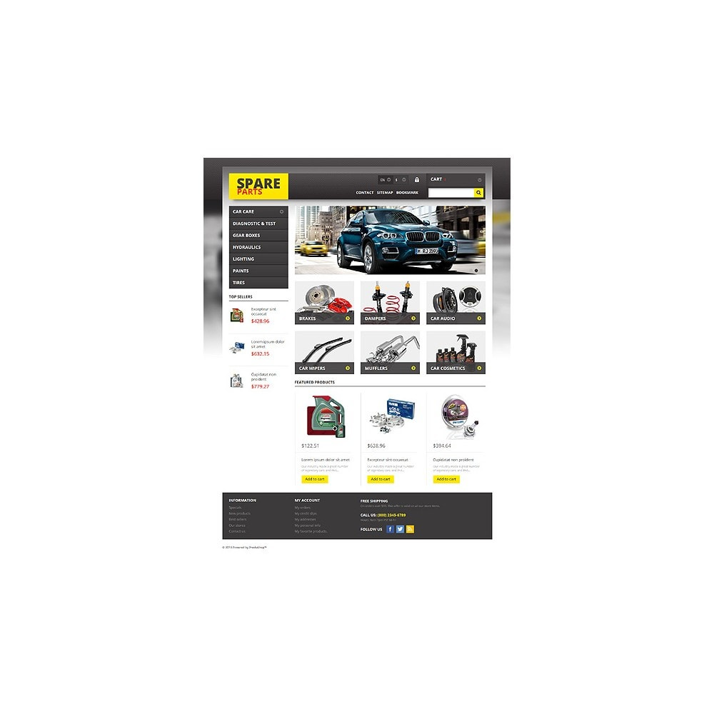 theme - Auto's & Motoren - Spares for Any Car - 10