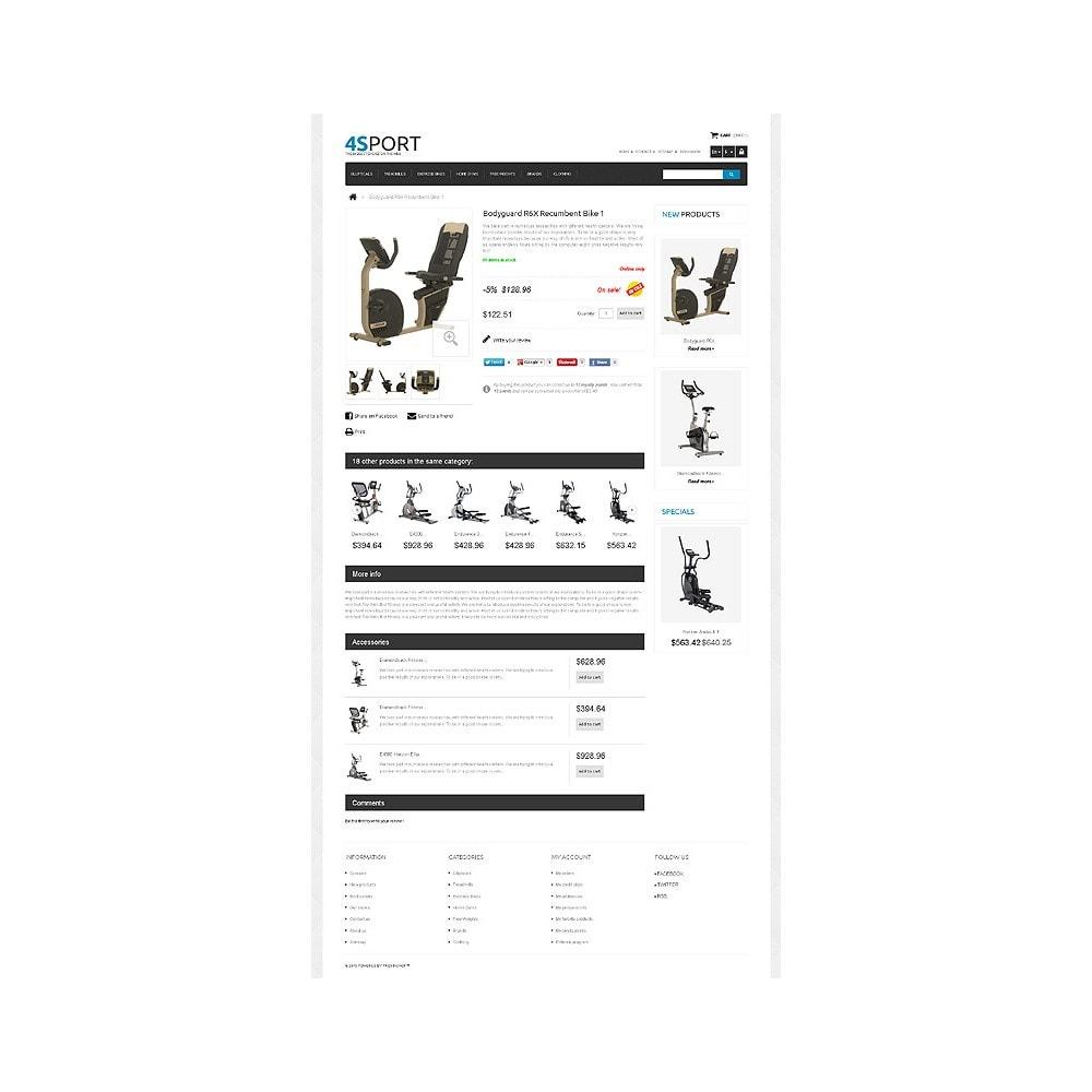 theme - Sports, Activities & Travel - Responsive Sport Store - 6