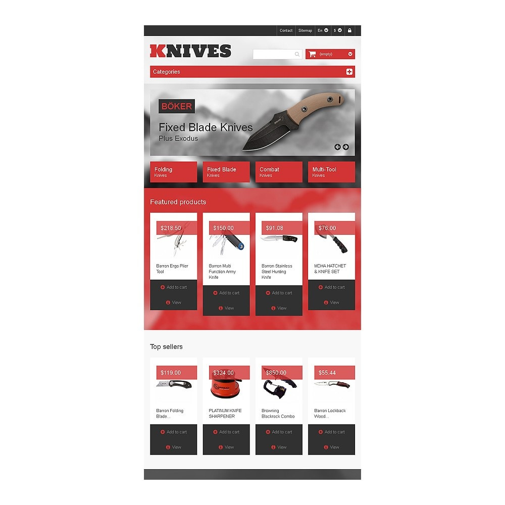 theme - Thèmes PrestaShop - Multi-Purpose Knives - 7