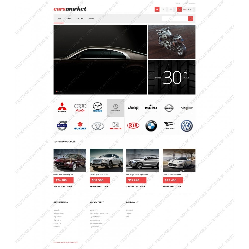 theme - Automotive & Cars - Cars Market - 3