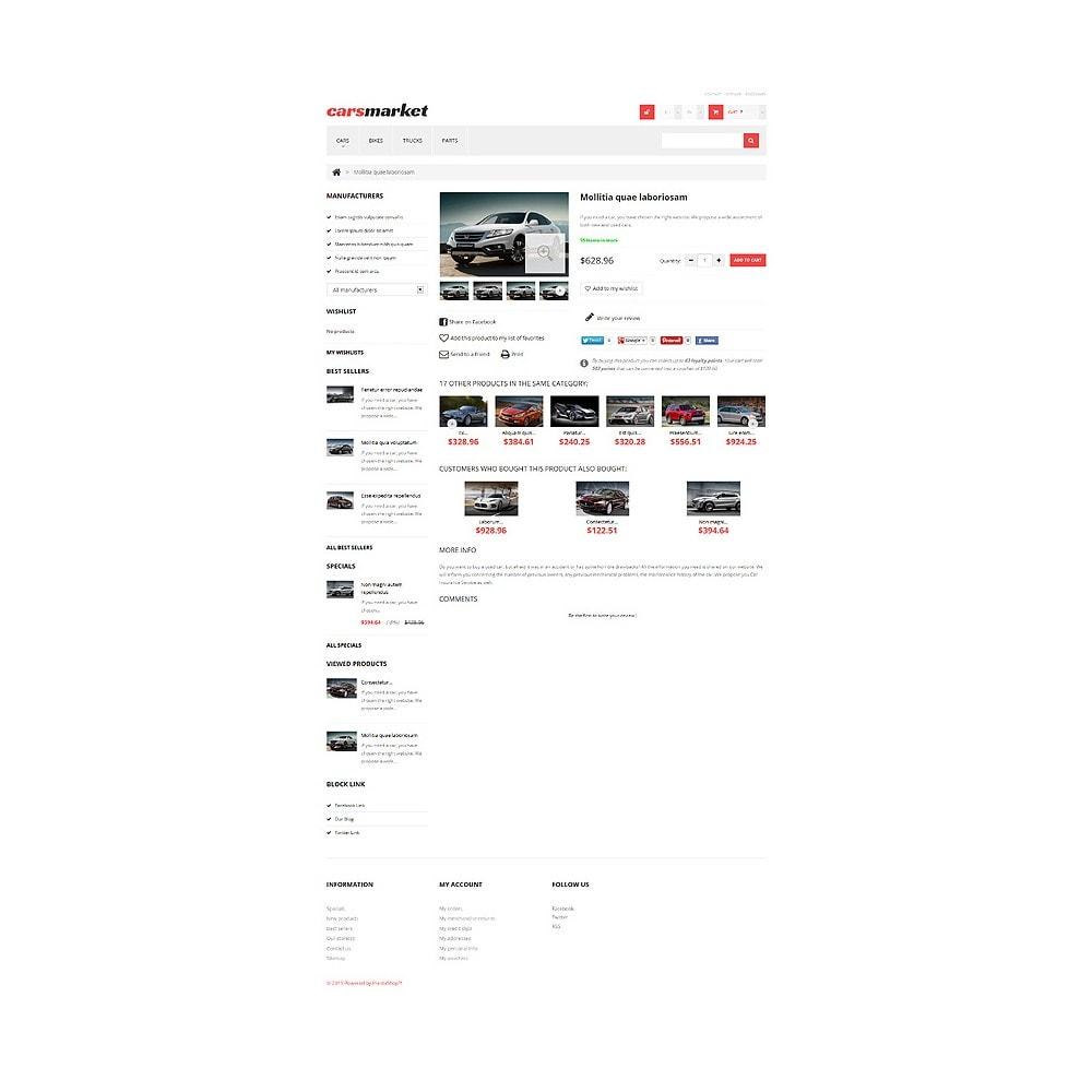 theme - Automotive & Cars - Cars Market - 6