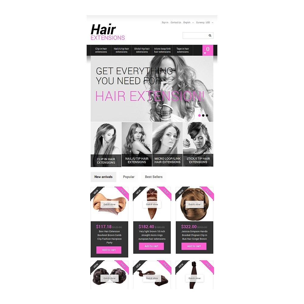 theme - Moda & Calçados - Long Hair - 7