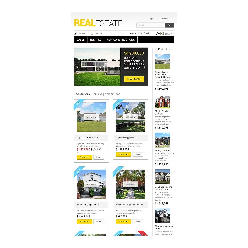 theme - Дом и сад - Real Estate Business - 7