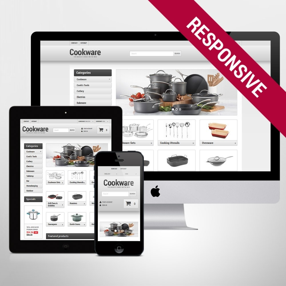 theme - Искусство и Культура - Kitchen Supplies Store - 1