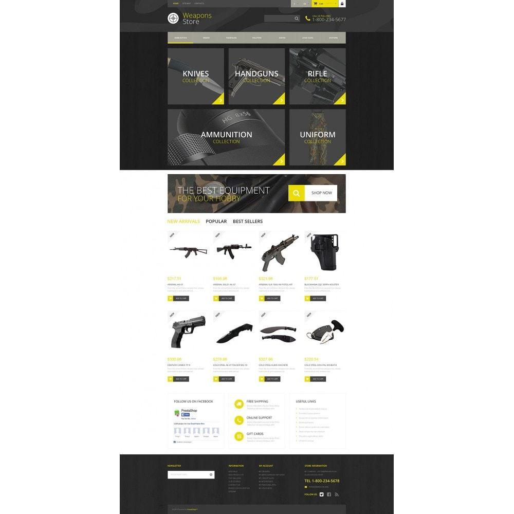 theme - Sport, Rozrywka & Podróże - Weapon Shop - 2