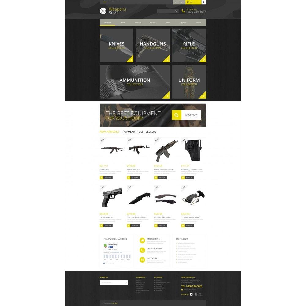 theme - Sport, Rozrywka & Podróże - Weapon Shop - 4