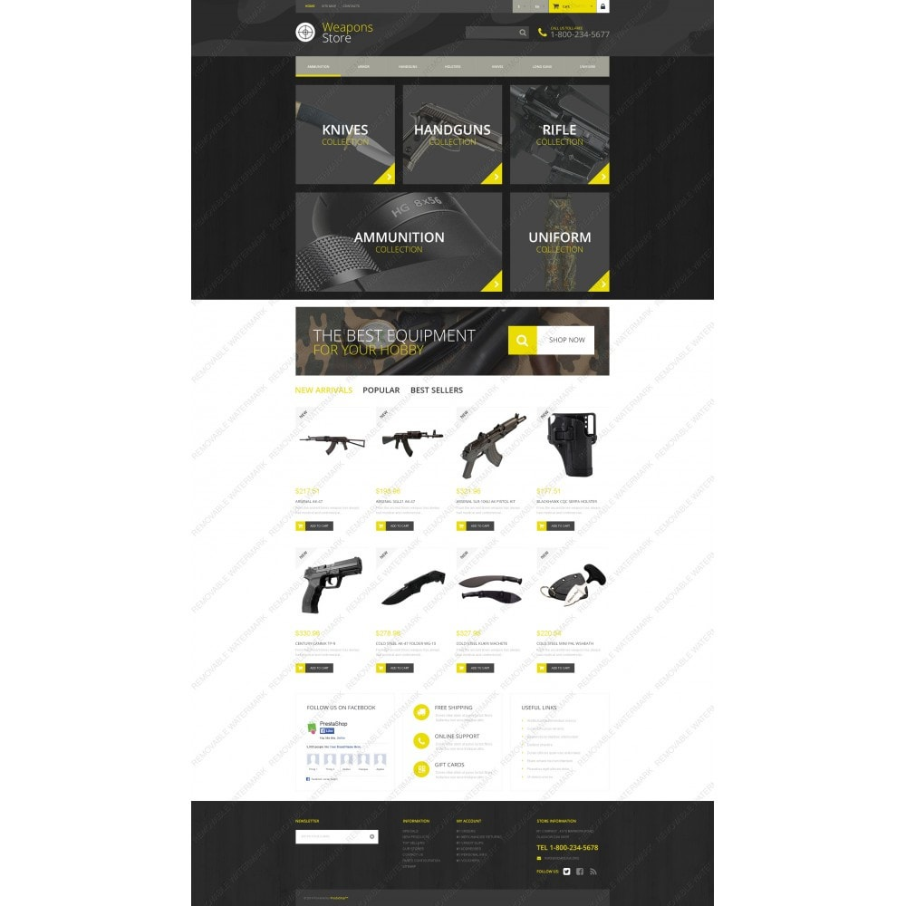 theme - Sport, Rozrywka & Podróże - Weapon Shop - 5