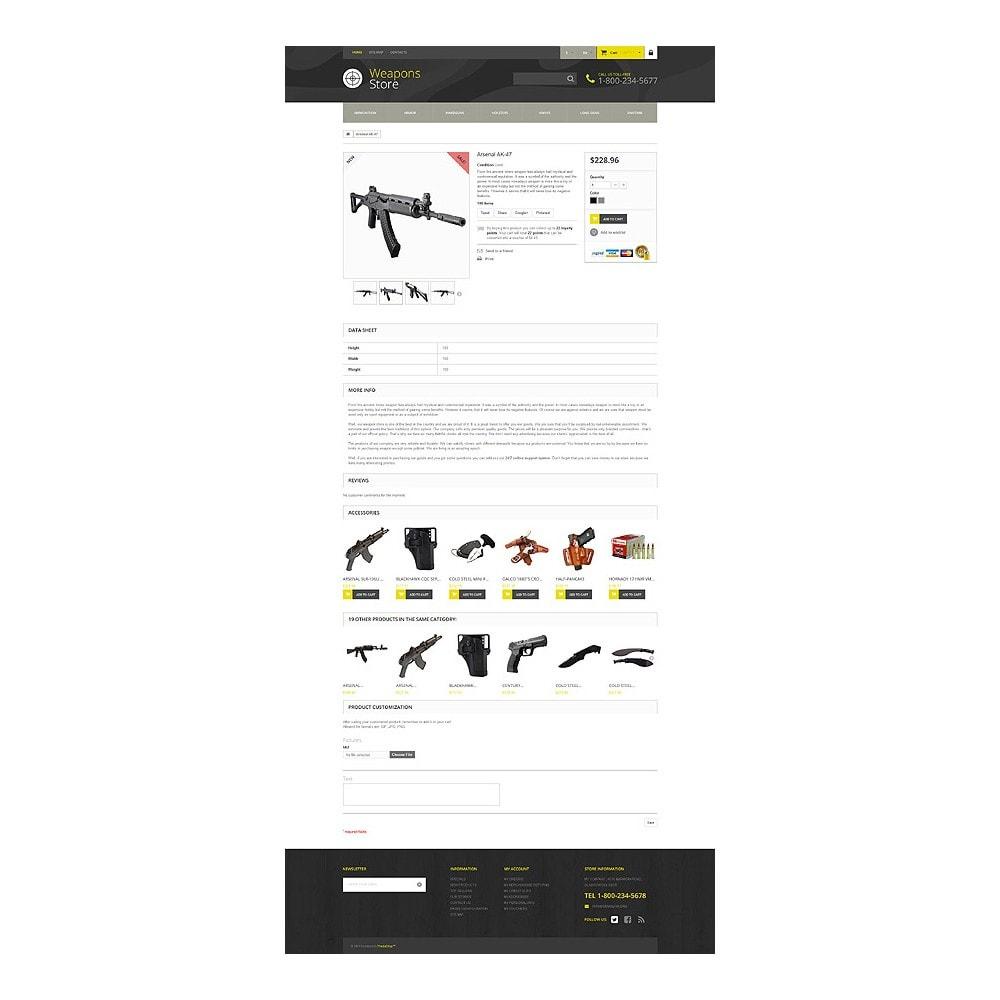 theme - Sport, Rozrywka & Podróże - Weapon Shop - 7
