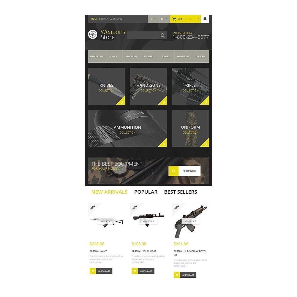 theme - Sport, Rozrywka & Podróże - Weapon Shop - 8