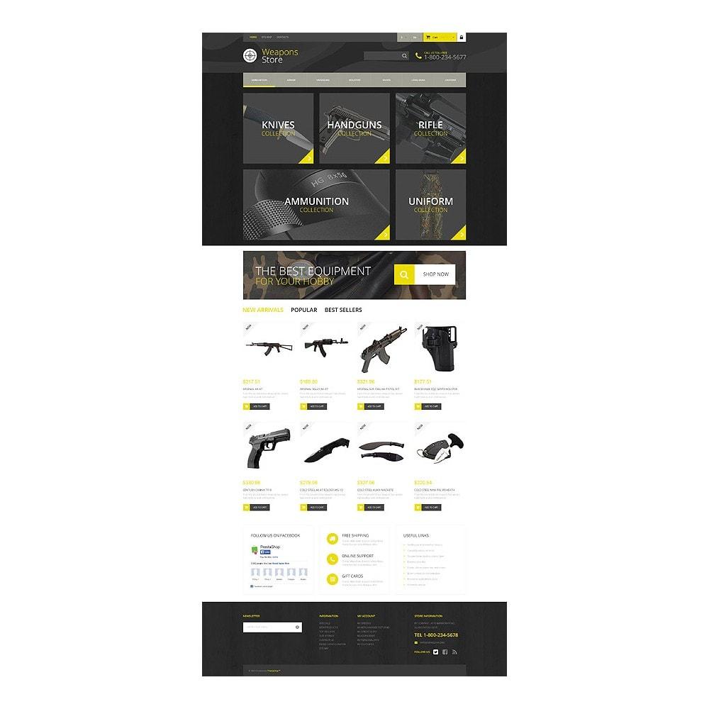 theme - Sport, Rozrywka & Podróże - Weapon Shop - 10