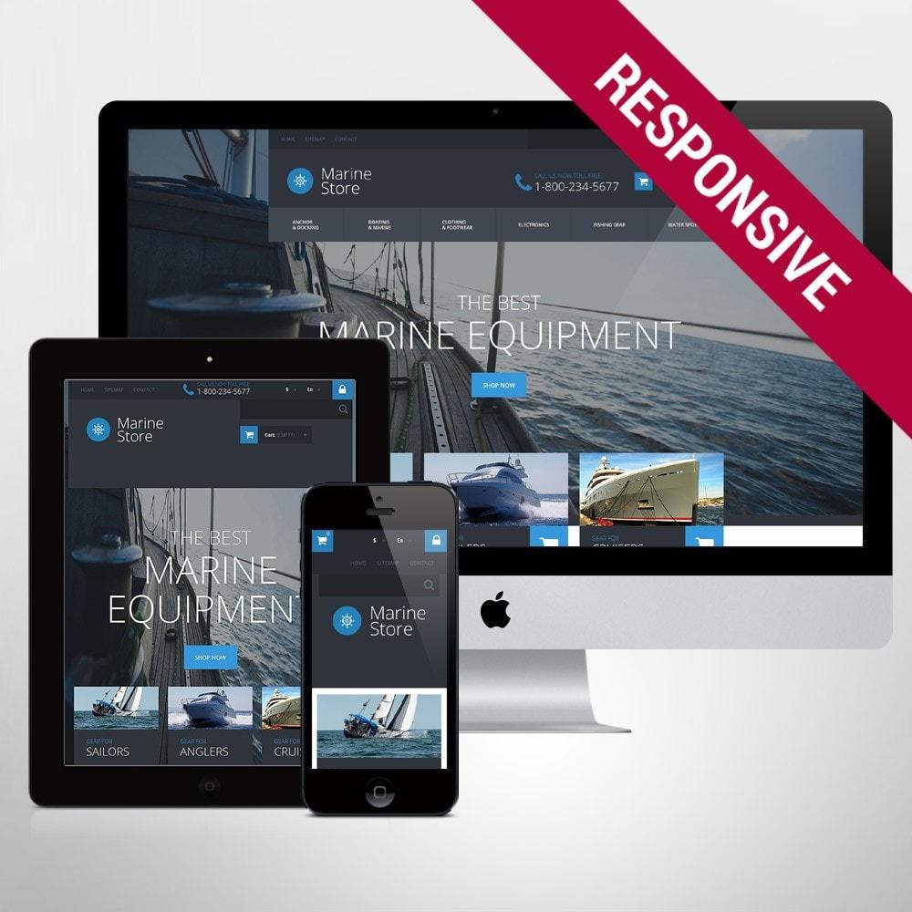 theme - Спорт и Путешествия - Marine Store - 1