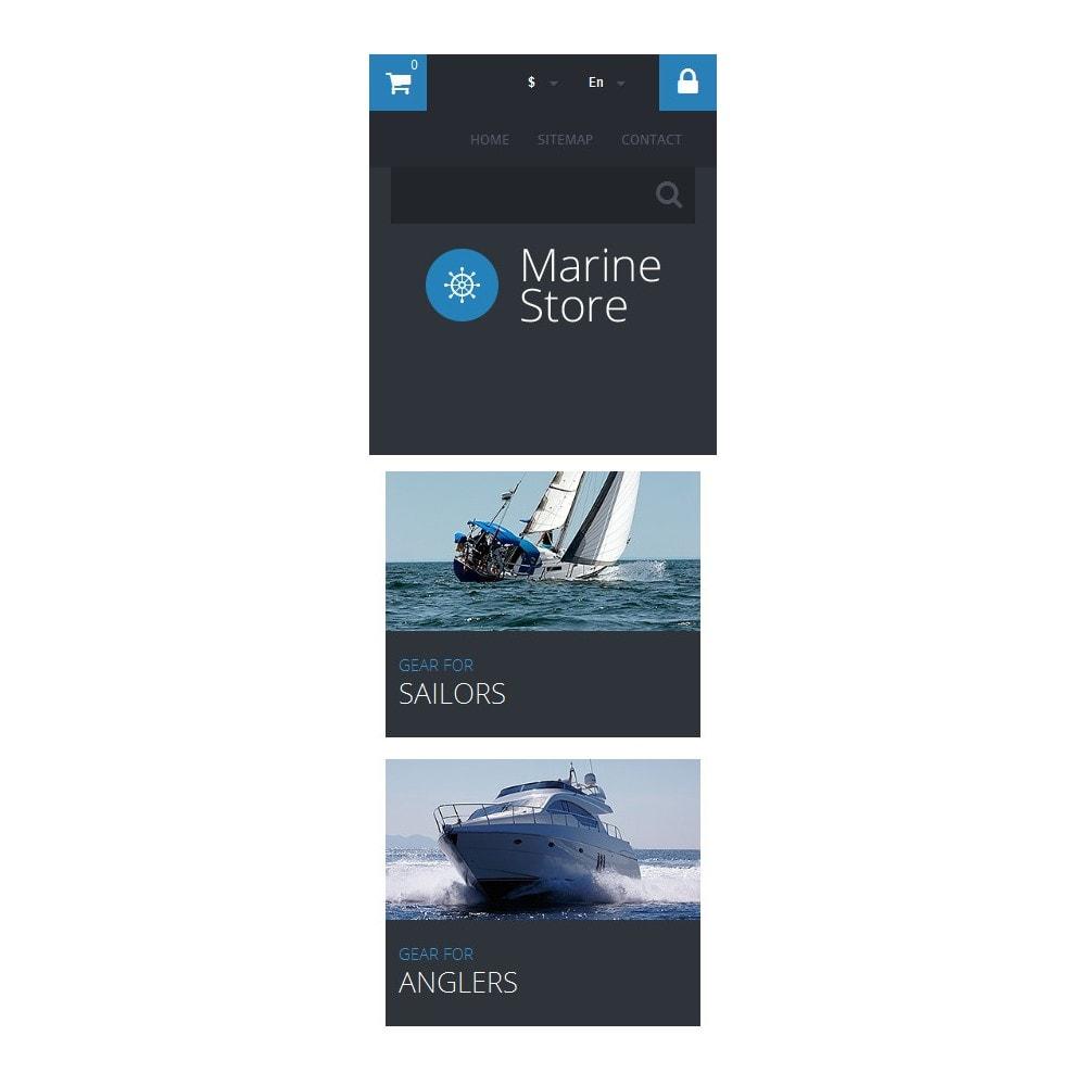 theme - Спорт и Путешествия - Marine Store - 9
