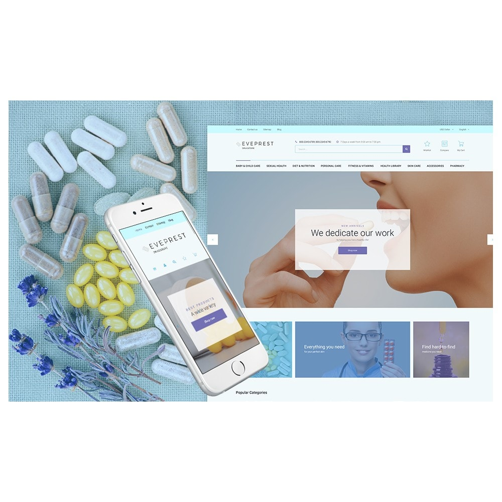 theme - Gezondheid & Schoonheid - Eveprest - Drugstore - 2