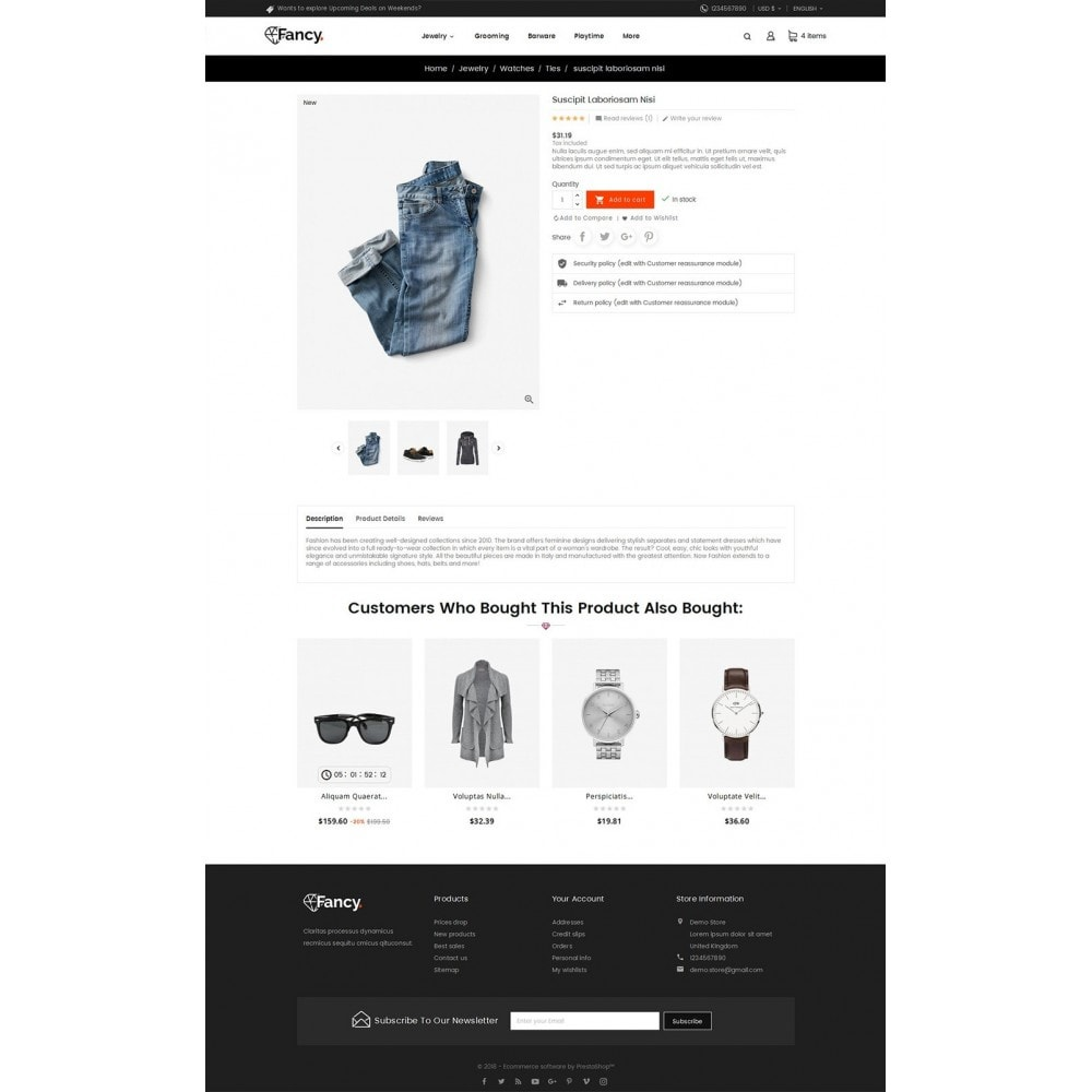 theme - Mode & Chaussures - Fancy Fashion Apparels - 6