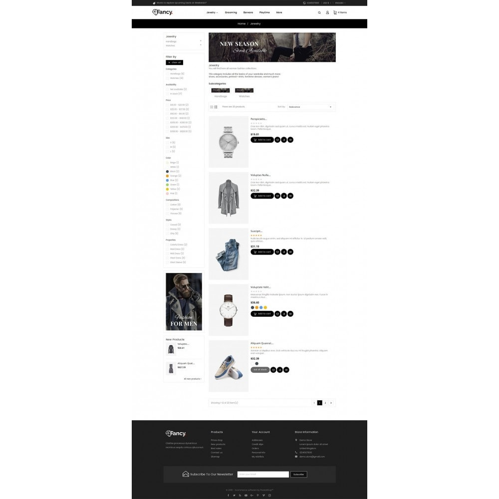 theme - Moda y Calzado - Fancy Fashion Apparels - 5