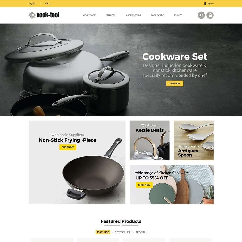 theme - Дом и сад - Cook tool - kitchen store - 2