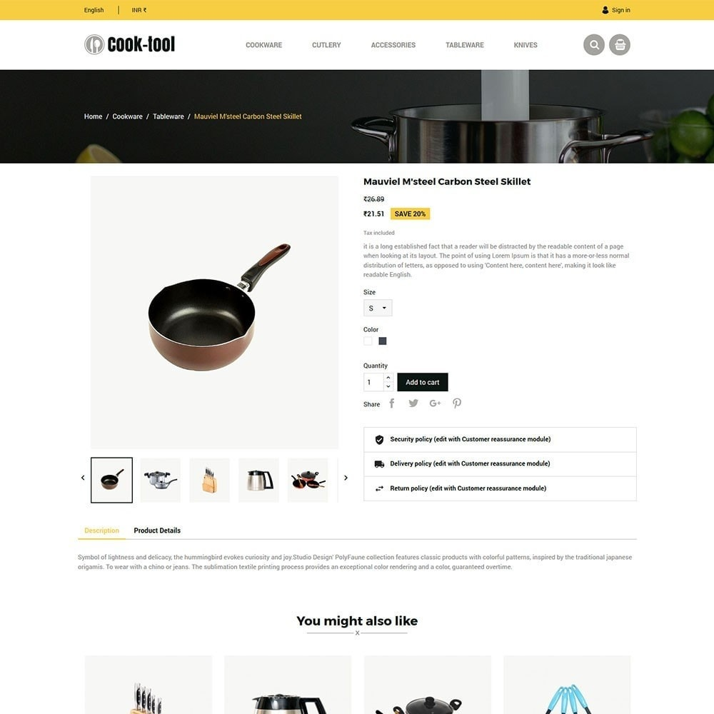 theme - Дом и сад - Cook tool - kitchen store - 5