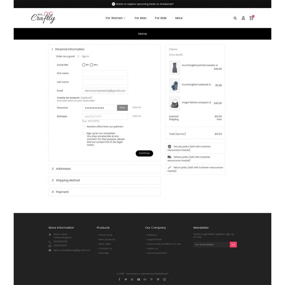theme - Mode & Schuhe - Craftly Fashion Apparels - 8