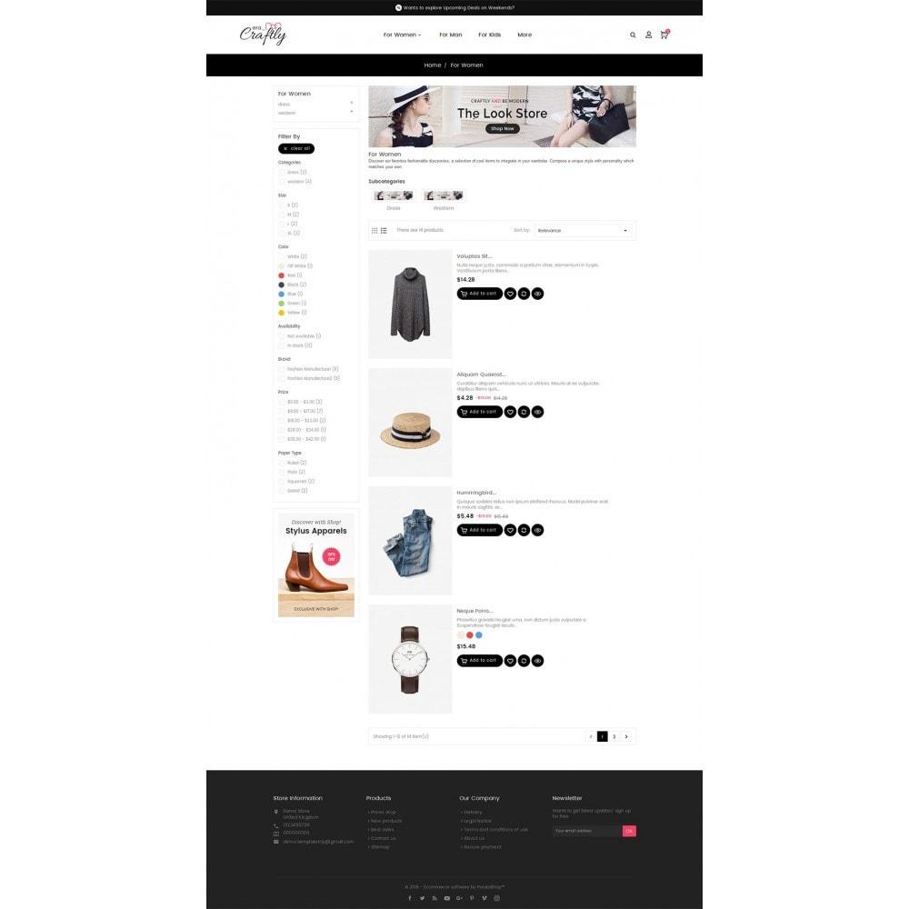 theme - Moda y Calzado - Craftly Fashion Apparels - 5
