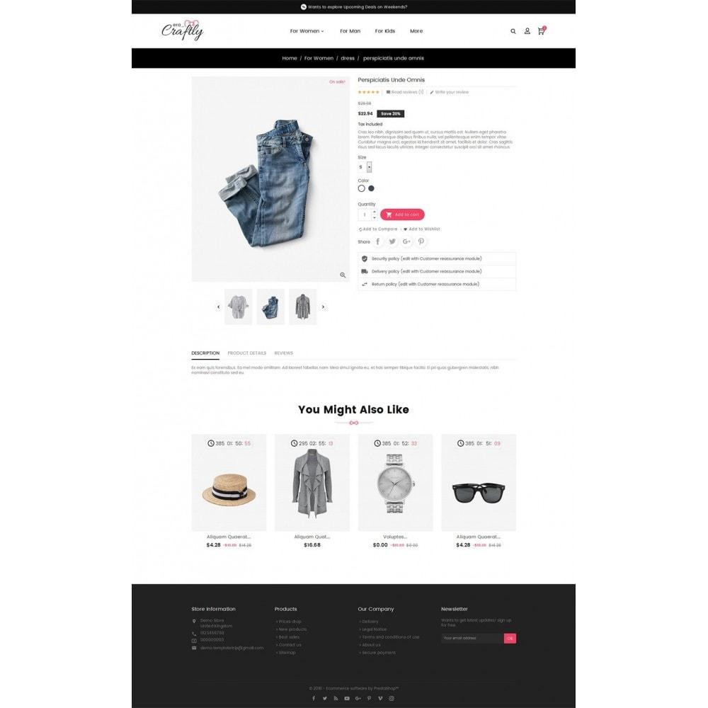 theme - Moda y Calzado - Craftly Fashion Apparels - 6
