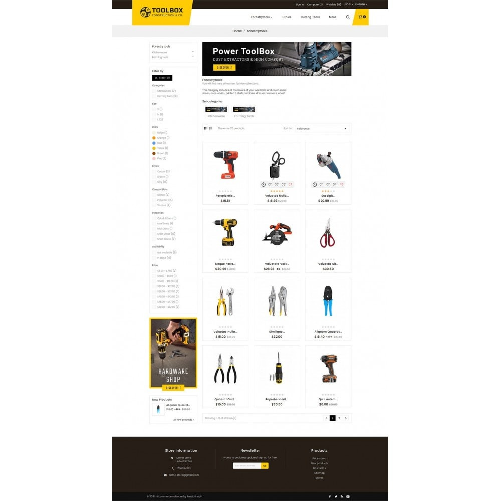 theme - Maison & Jardin - Construction & Tools - 4