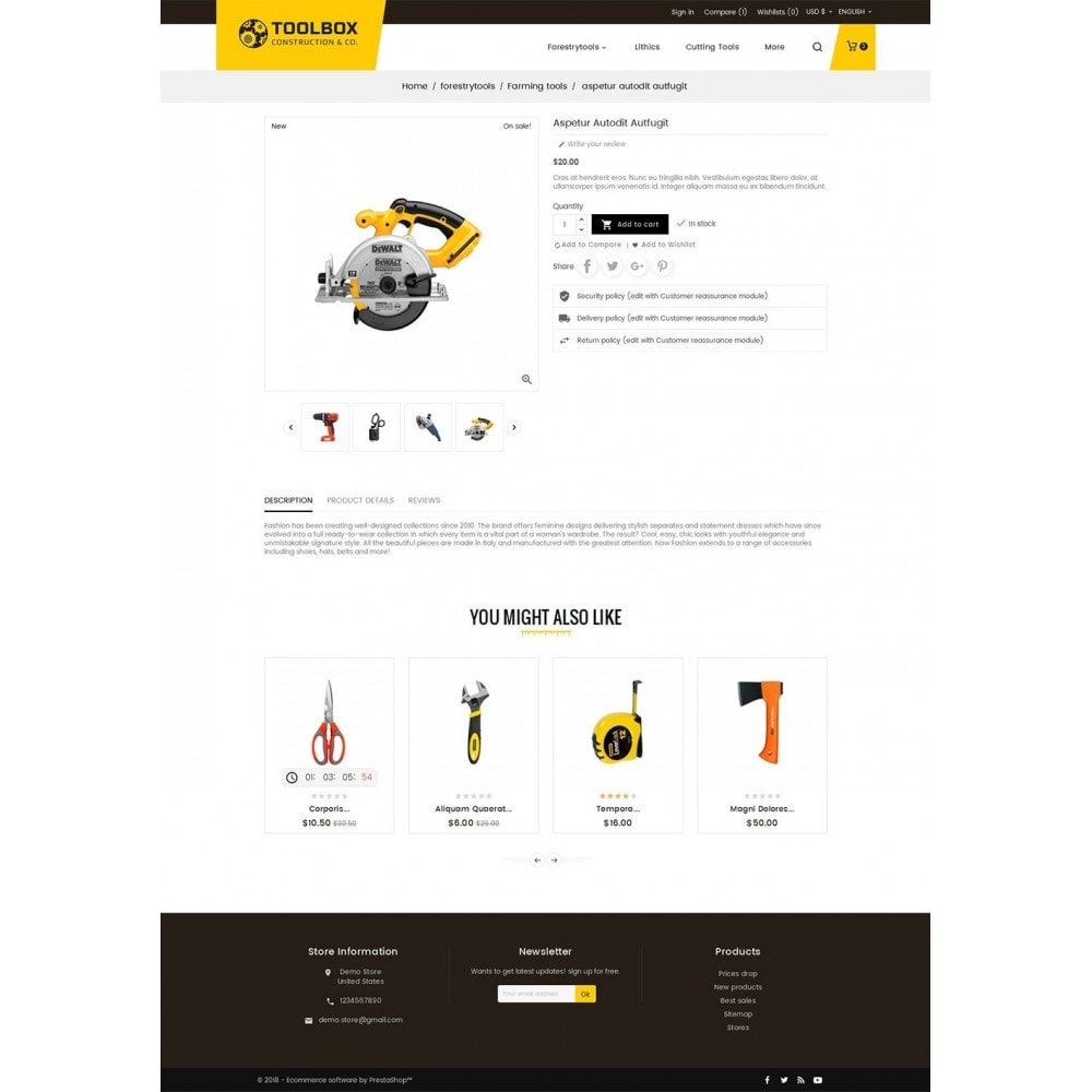 theme - Maison & Jardin - Construction & Tools - 6