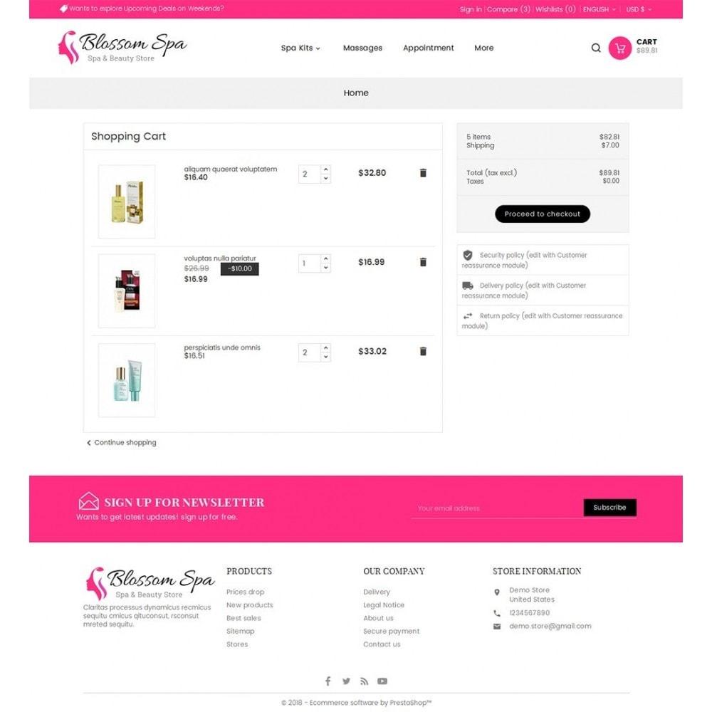 theme - Santé & Beauté - Blossom Spa - 7