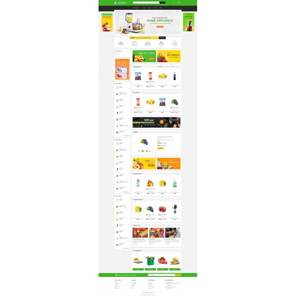 theme - Gastronomía y Restauración - Big Basket Mega Grocery - 3