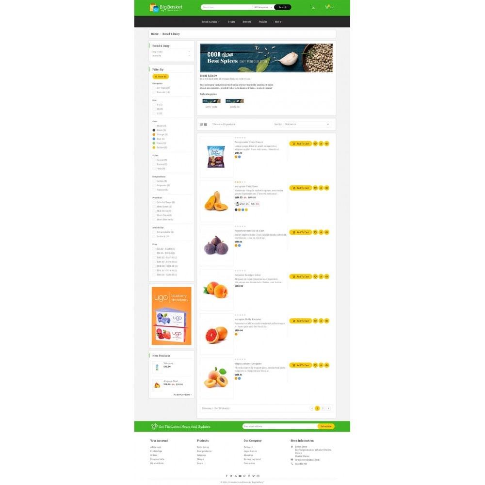 theme - Cibo & Ristorazione - Big Basket Mega Grocery - 5