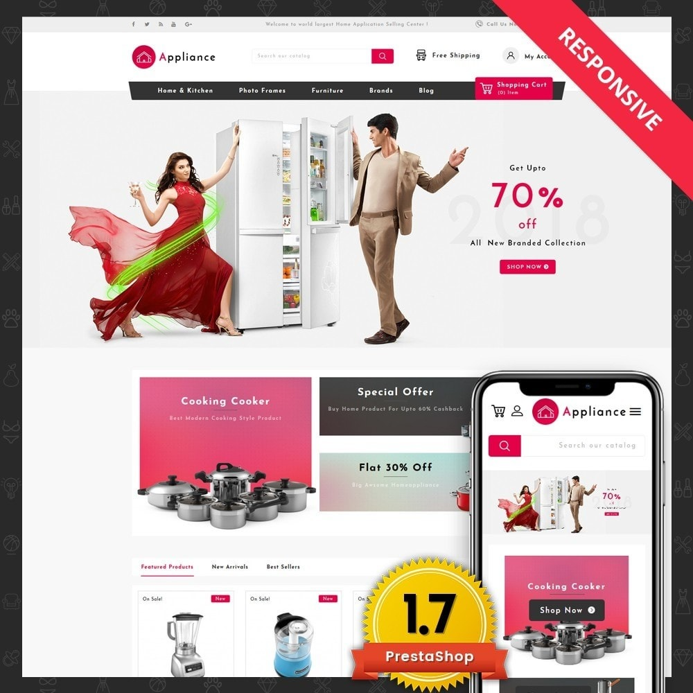 theme - Дом и сад - Home Appliances Store - 1