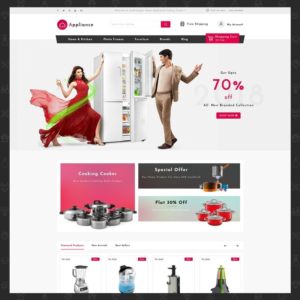 theme - Дом и сад - Home Appliances Store - 2