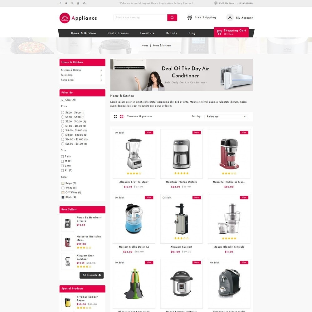 theme - Дом и сад - Home Appliances Store - 3