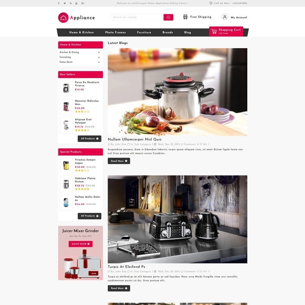 theme - Дом и сад - Home Appliances Store - 5