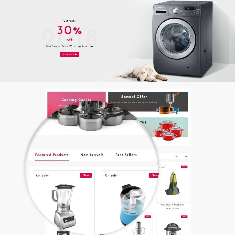 theme - Дом и сад - Home Appliances Store - 8