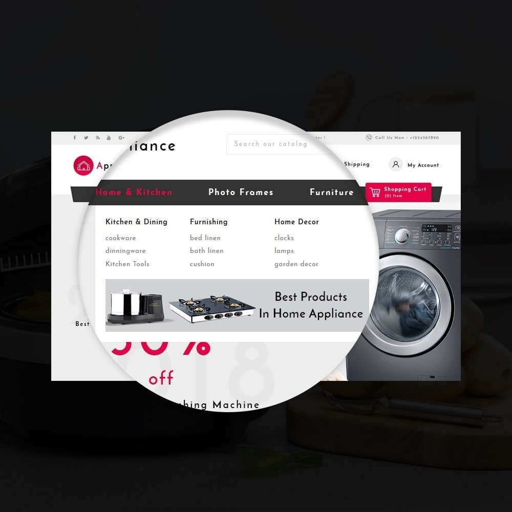 theme - Дом и сад - Home Appliances Store - 10