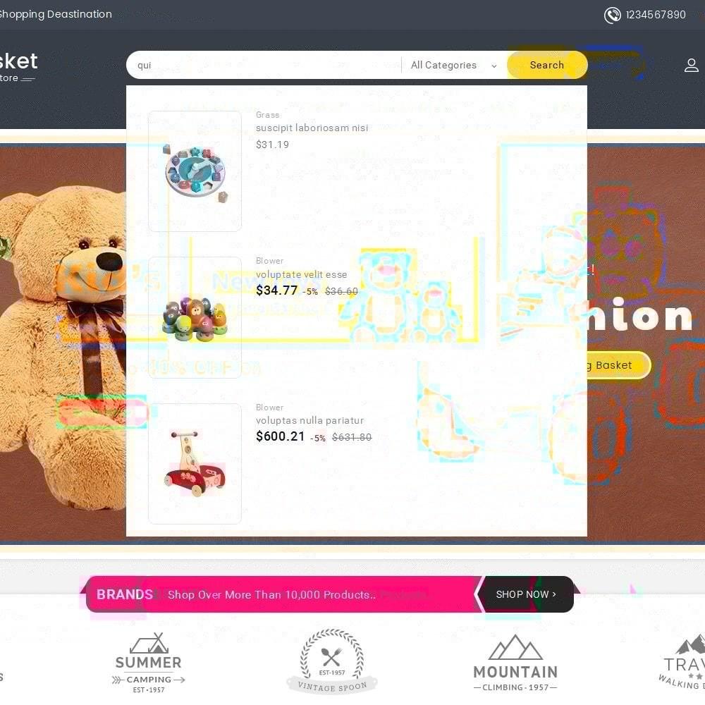 theme - Enfants & Jouets - Big Basket Kids Toys - 11