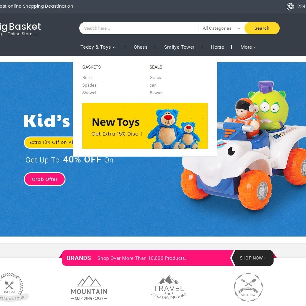 theme - Niños y Juguetes - Big Basket Kids Toys - 10