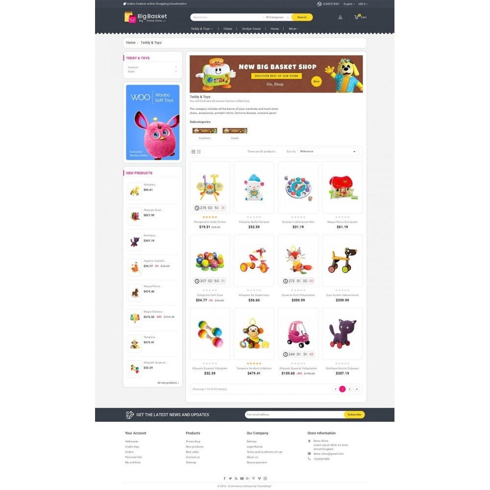 theme - Kinder & Spielzeug - Big Basket Kids Toys - 4