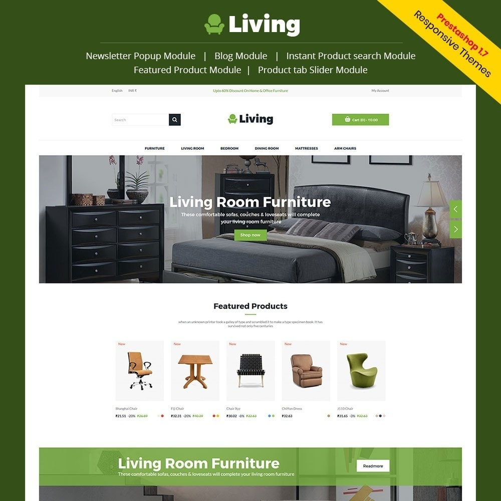 theme - Dom & Ogród - Living - Furniture Store - 1