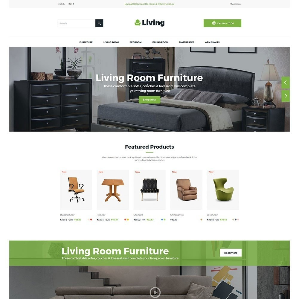 theme - Dom & Ogród - Living - Furniture Store - 2