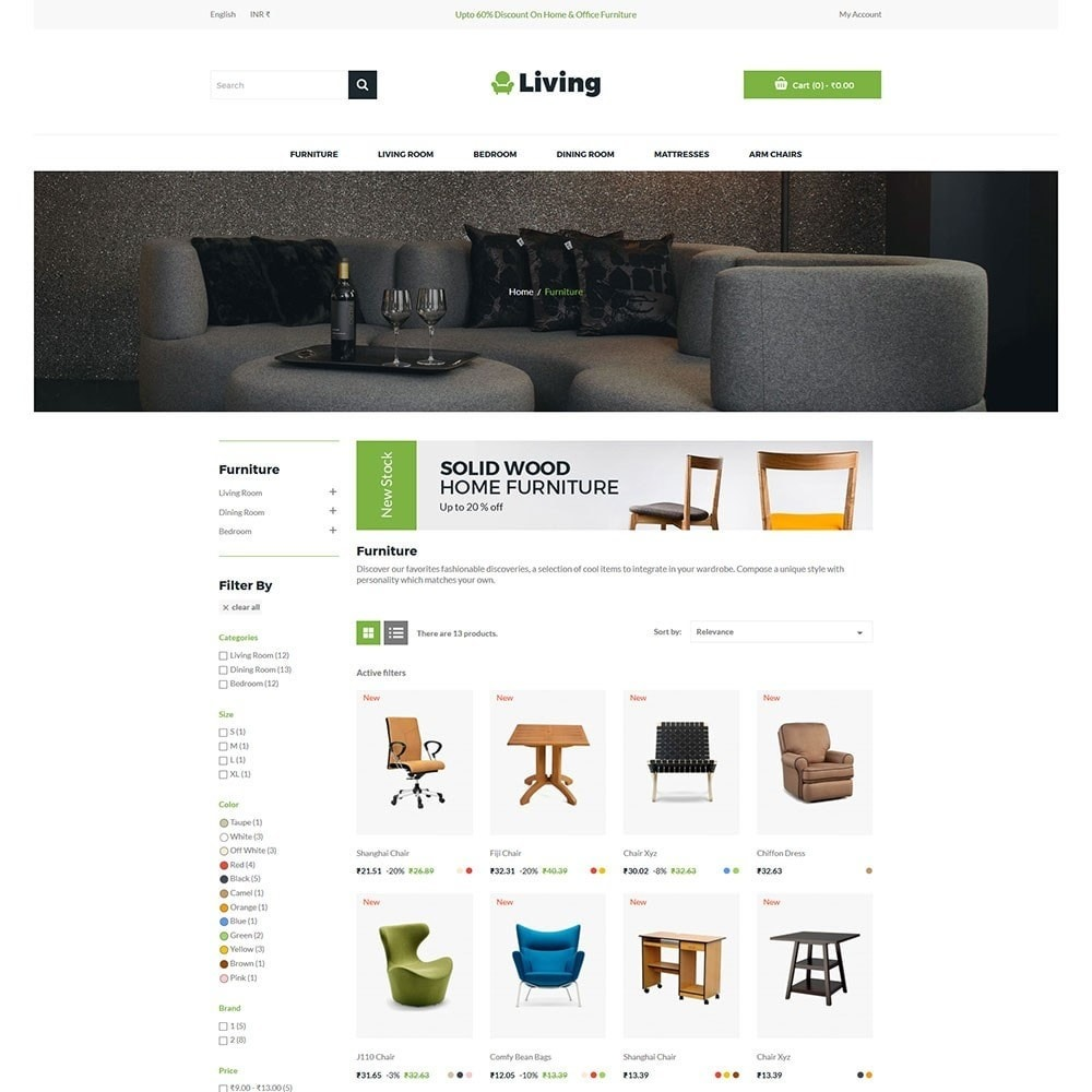theme - Dom & Ogród - Living - Furniture Store - 3