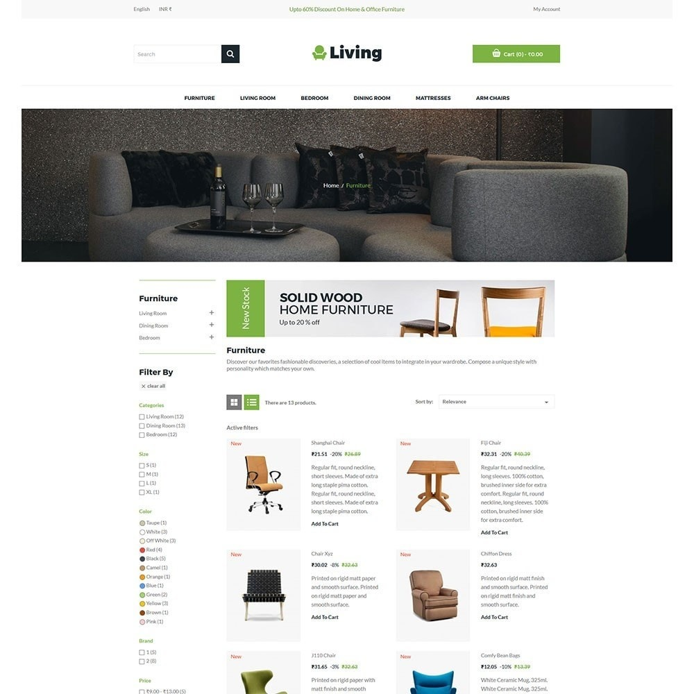 theme - Dom & Ogród - Living - Furniture Store - 4