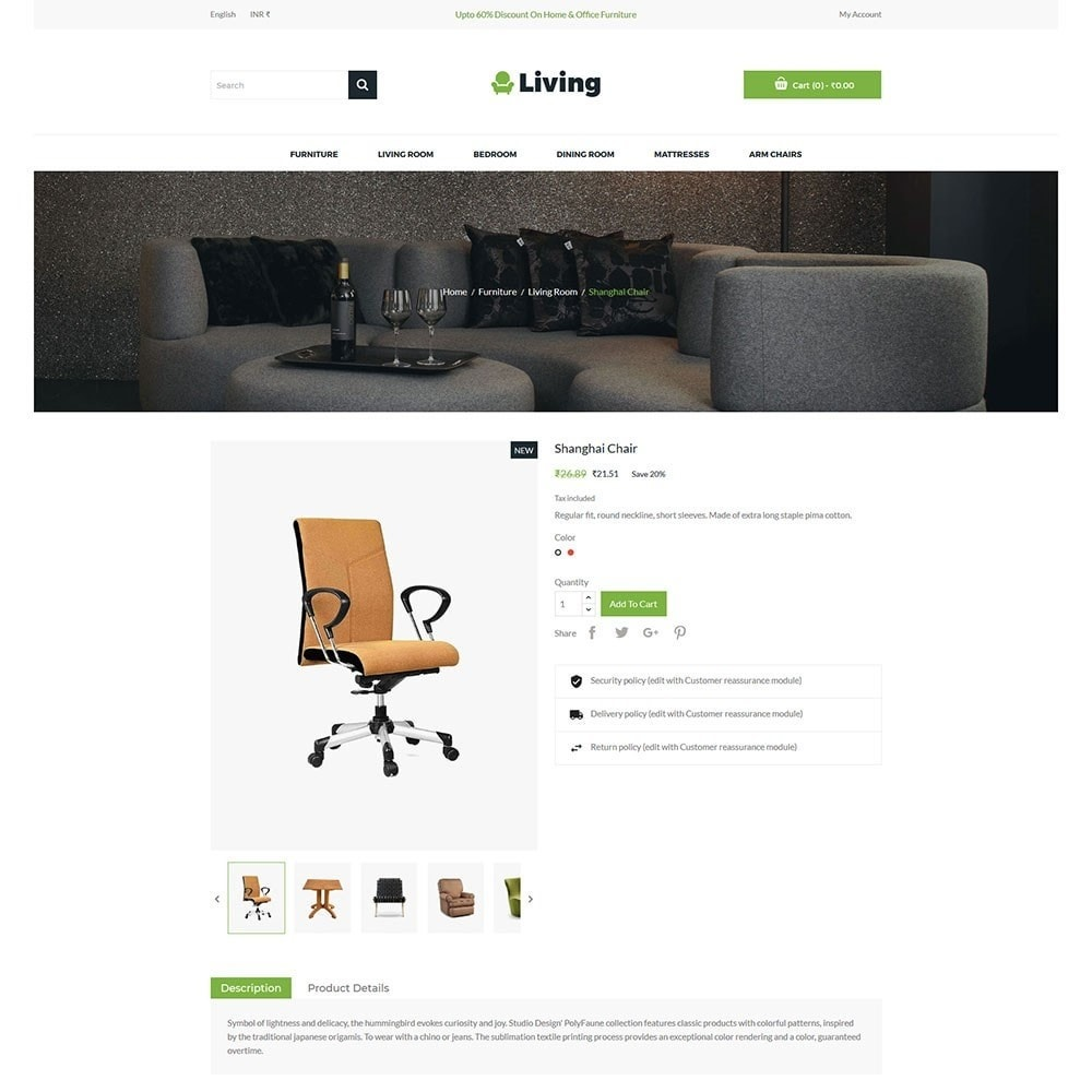 theme - Dom & Ogród - Living - Furniture Store - 5