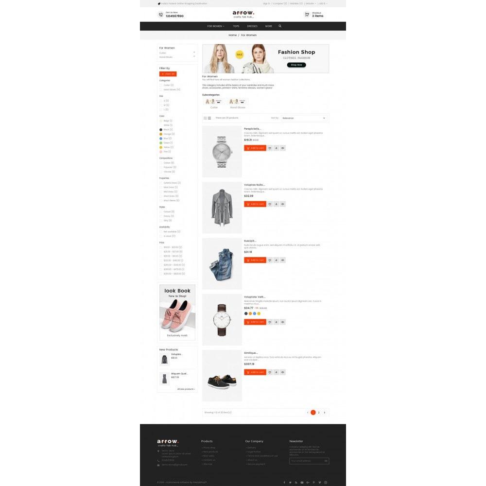 theme - Mode & Chaussures - Arrow Fashion Apparels - 5